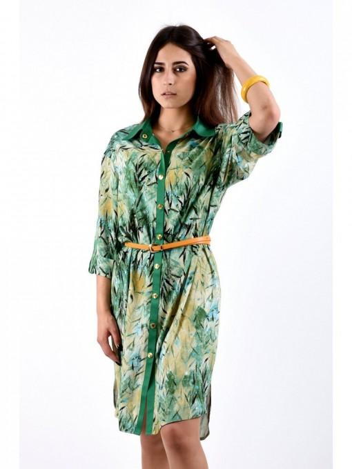 Платье мод. 3425 цвет Зеленый