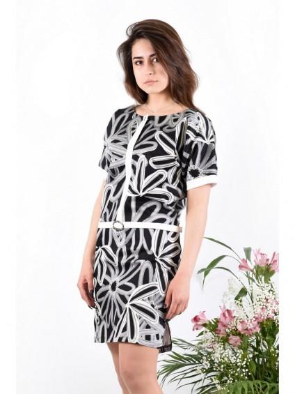 Платье мод. 3427 цвет Чёрный