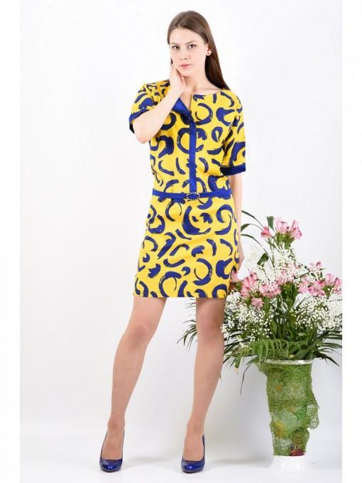 Платье мод. 3427 цвет Желтый