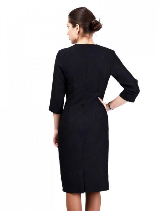 Платье мод. 3434 цвет Темно-синий