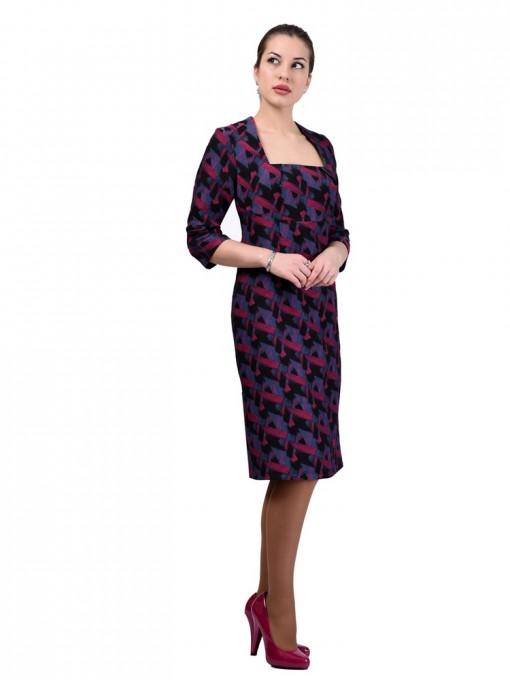 Платье мод. 3434 цвет Фуксия