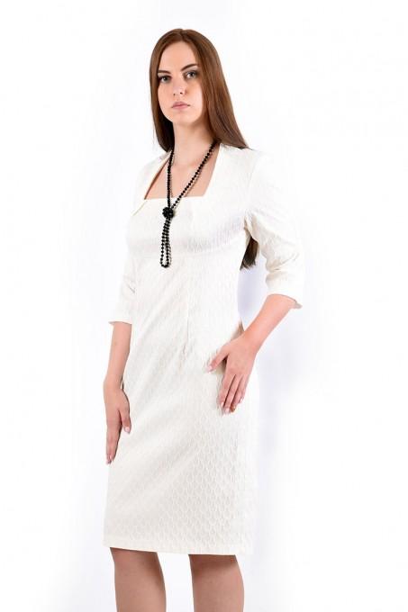 Платье мод. 3434 цвет Белый