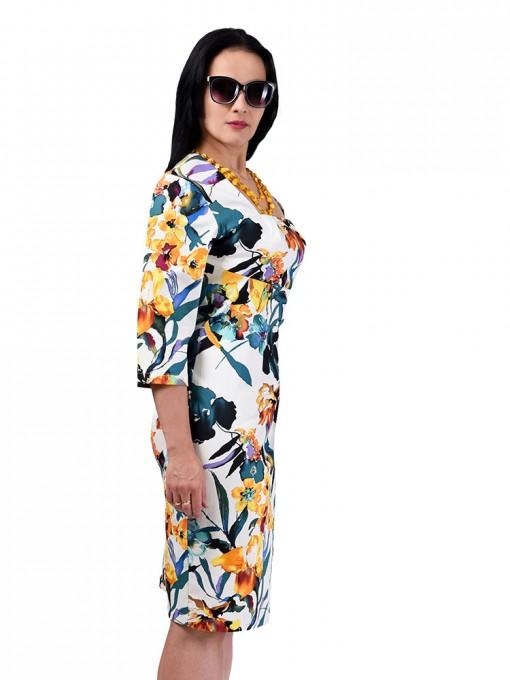 Платье мод. 3434 цвет Желтый