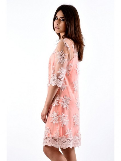 Платье мод. 3435 цвет Персик