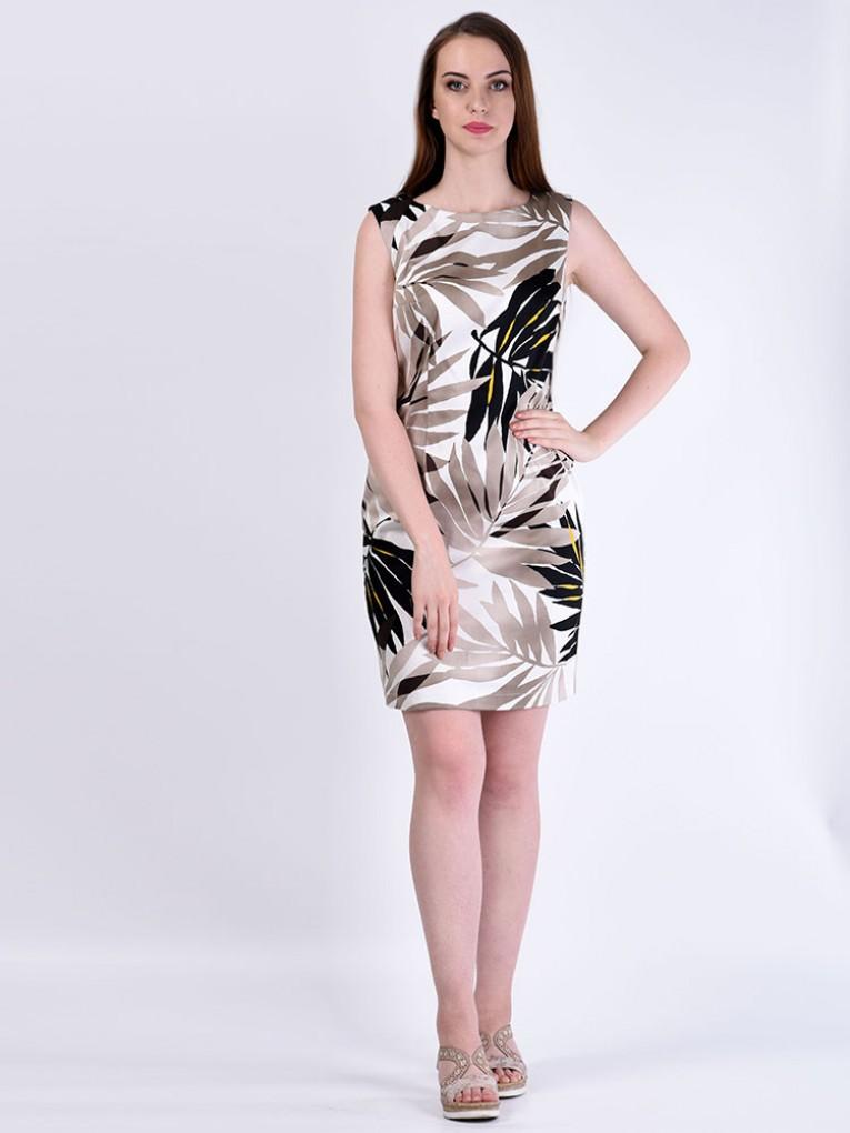 Платье мод. 3436 цвет Бежевый