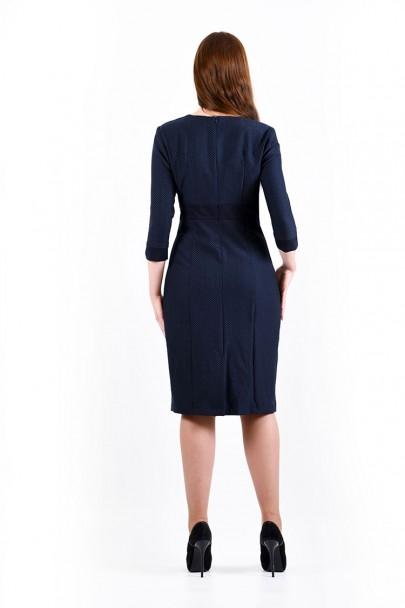 Платье мод. 3438 цвет Синий