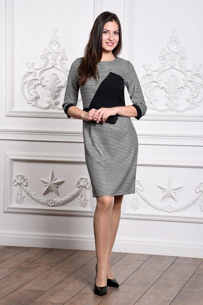 Платье мод. 3439 цвет Черный