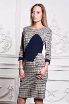 Платье мод. 3439 цвет Синий