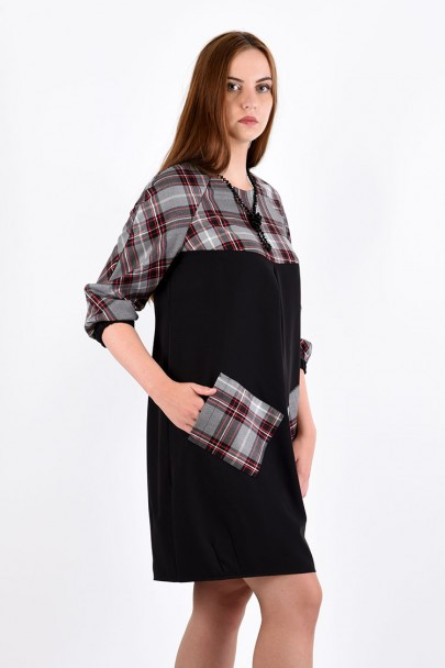 Платье мод. 3440 цвет Чёрный