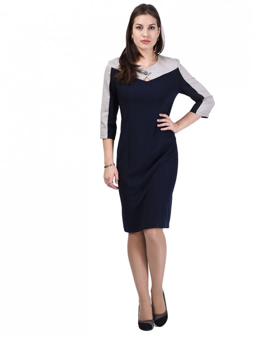 Платье мод. 3442 цвет Бежевый