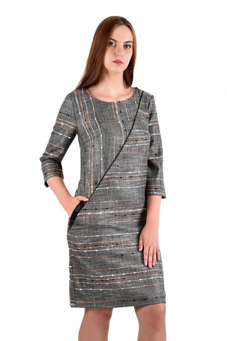 Платье мод. 3444 цвет Бежевый