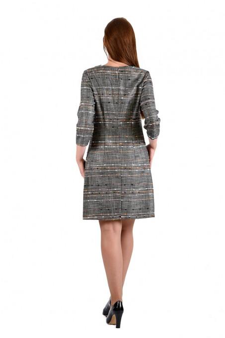 Платье мод. 3445 цвет Бежевый