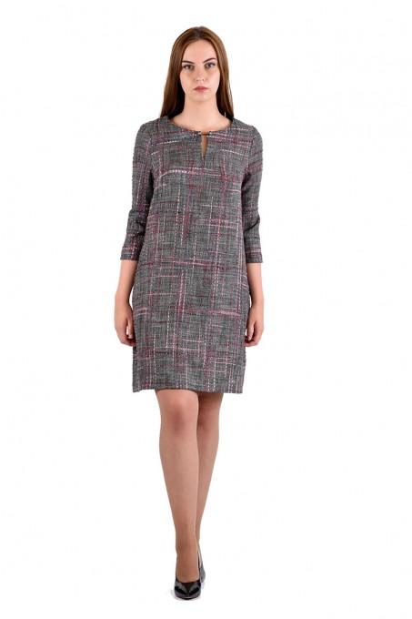 Платье мод. 3445 цвет Сиреневый
