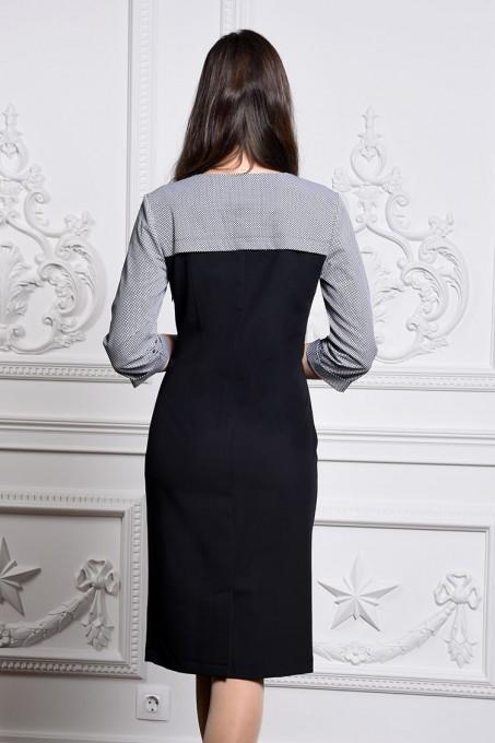 Платье мод. 3446 цвет Черный