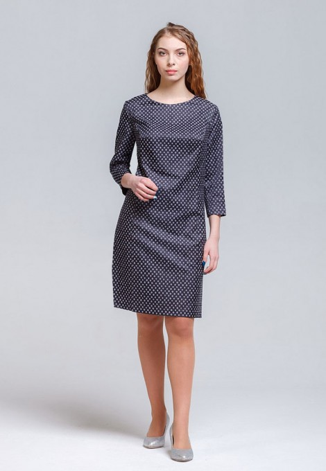 Платье мод. 3447-1 цвет Серый