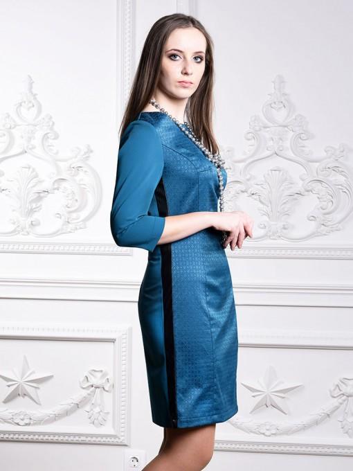 Платье мод. 3447 цвет Бирюза