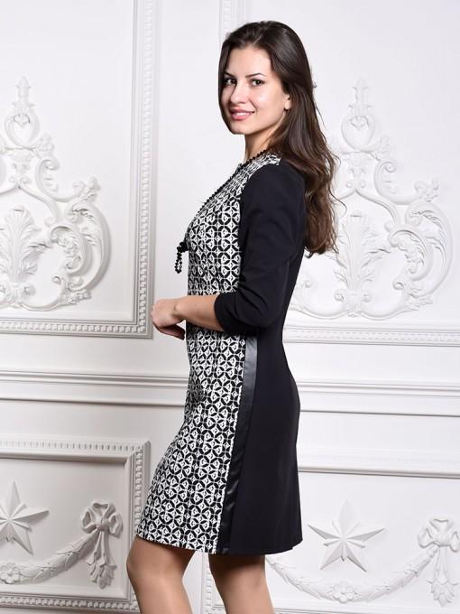 Платье мод. 3447 цвет Черный