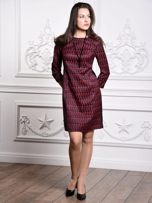 Платье мод. 3447 цвет Красный