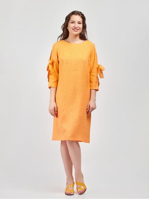 Платье мод. 3448 цвет Оранжевый