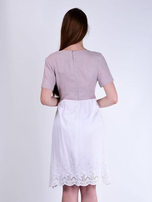 Платье мод. 3449-1 цвет Розовый