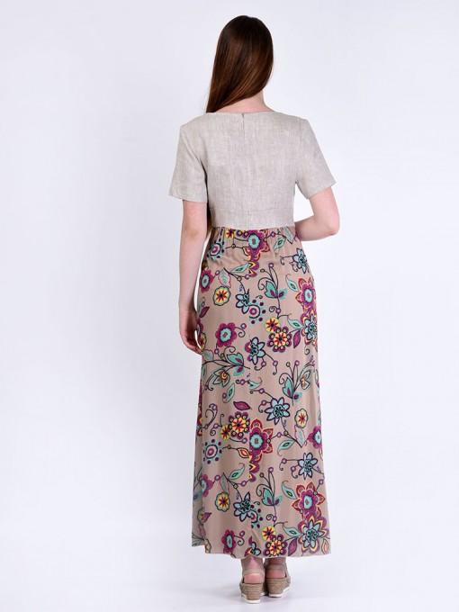 Платье мод. 3449 цвет Розовый