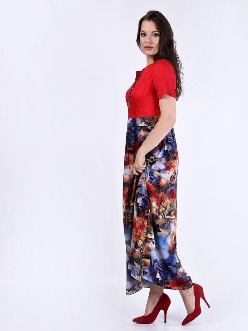 Платье мод. 3449 цвет Красный