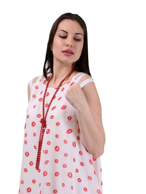 Платье мод. 3450 цвет Белый