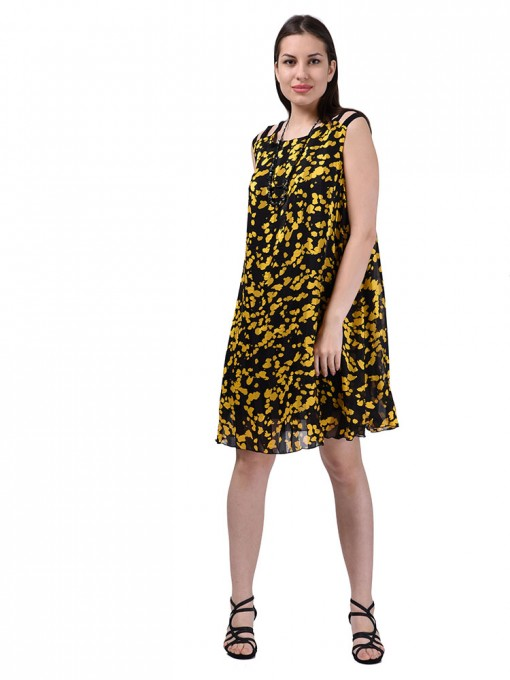 Платье мод. 3450 цвет Желтый