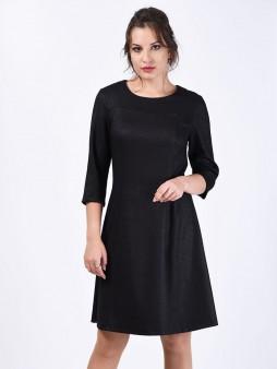 Платье мод. 3452 цвет Черный