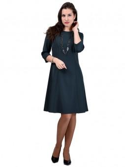 Платье мод. 3452 цвет Изумрудный