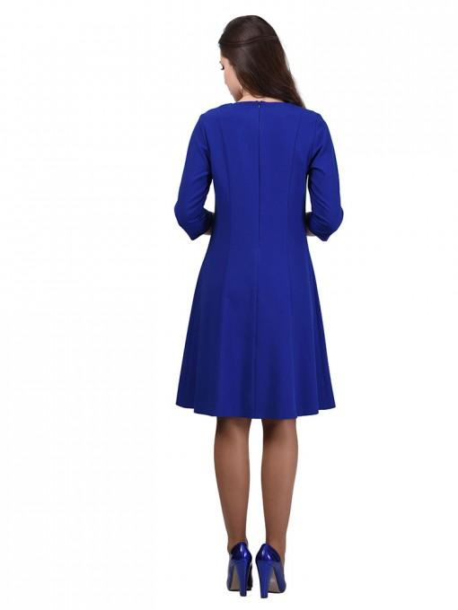 Платье мод. 3452 цвет Василек