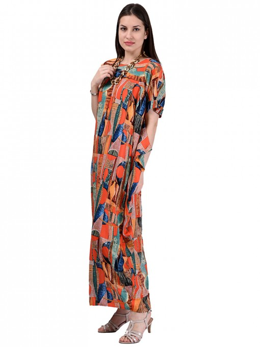 Платье мод. 3457 цвет Терракотовый
