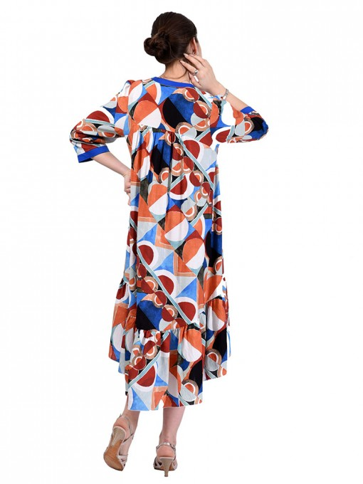 Платье мод. 3461 цвет Синий