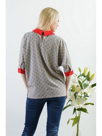 Блуза мод. 3502 цвет Полоска