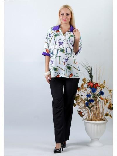 Блуза мод. 3506 цвет Фиолетовый