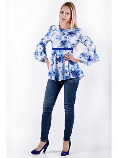 Блуза мод. 3508 цвет Голубой
