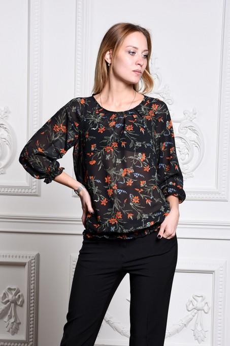 Блуза мод. 3511 цвет Черный