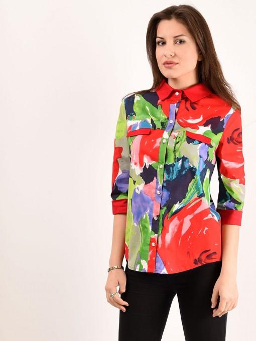 Блуза мод. 3513 цвет Красный