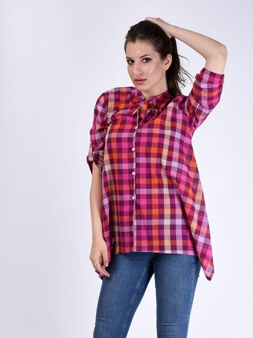 Блуза мод. 3516 цвет Малиновый