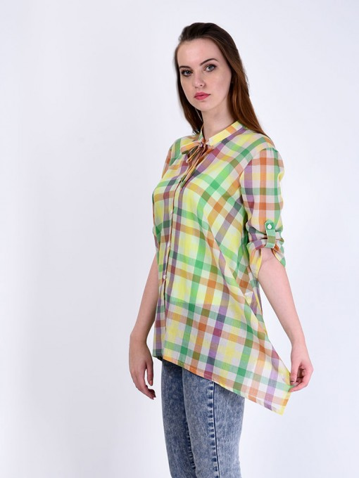 Блуза мод. 3516 цвет Салатовый