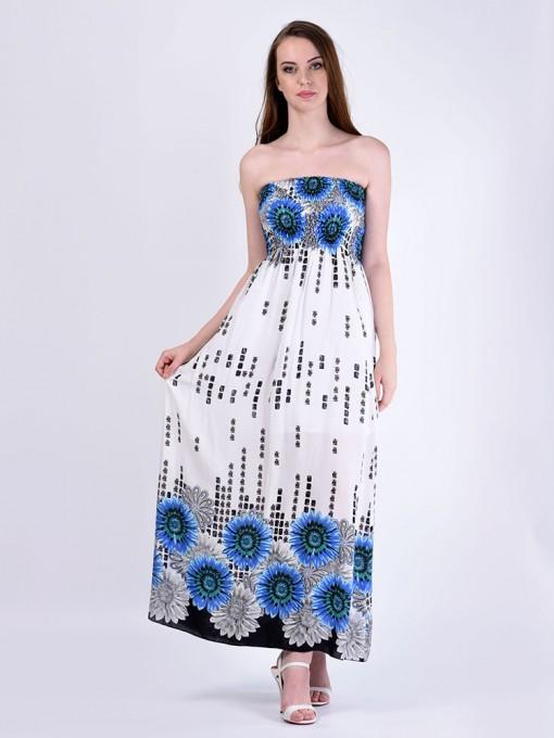 Сарафан мод. 3708 цвет Синий