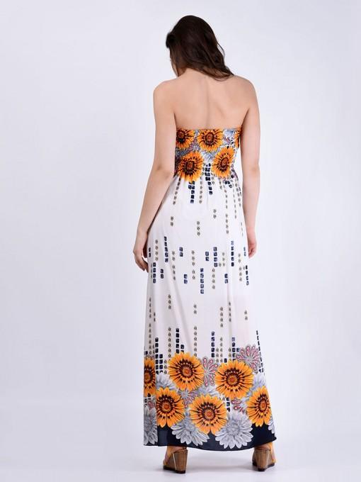 Сарафан мод. 3708 цвет Оранжевый
