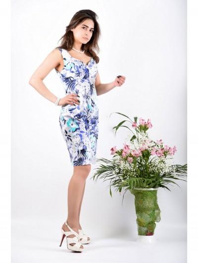 Платье мод. 3718 цвет Мятный