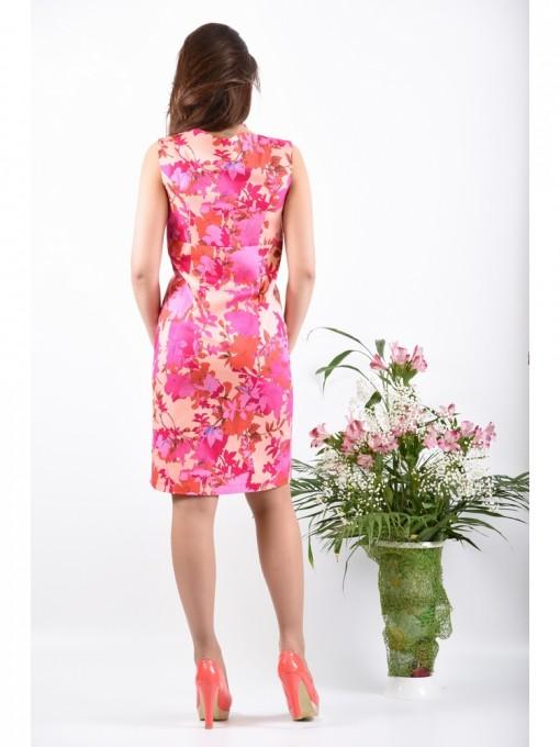 Платье мод. 3718 цвет Персиковый