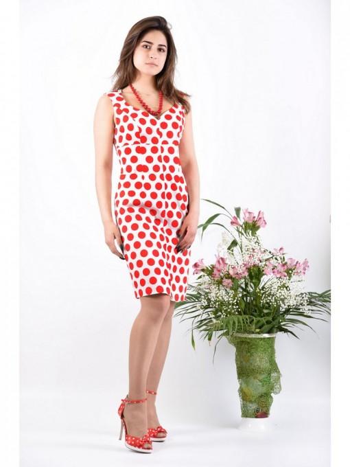 Платье мод. 3718 цвет Красный