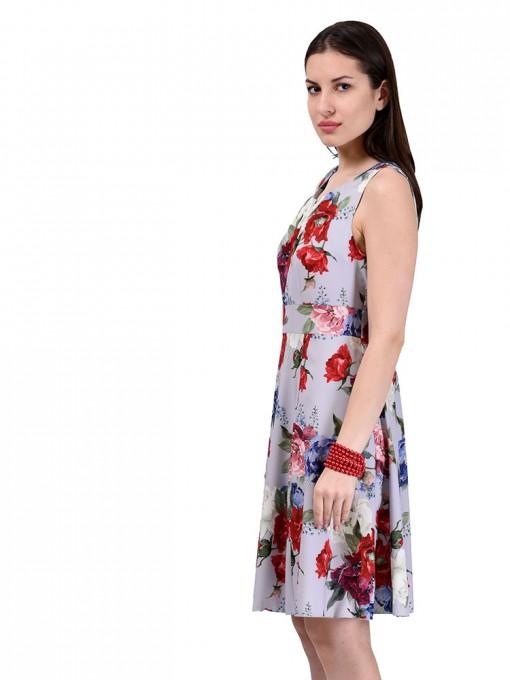 Платье мод. 3721 цвет Серый