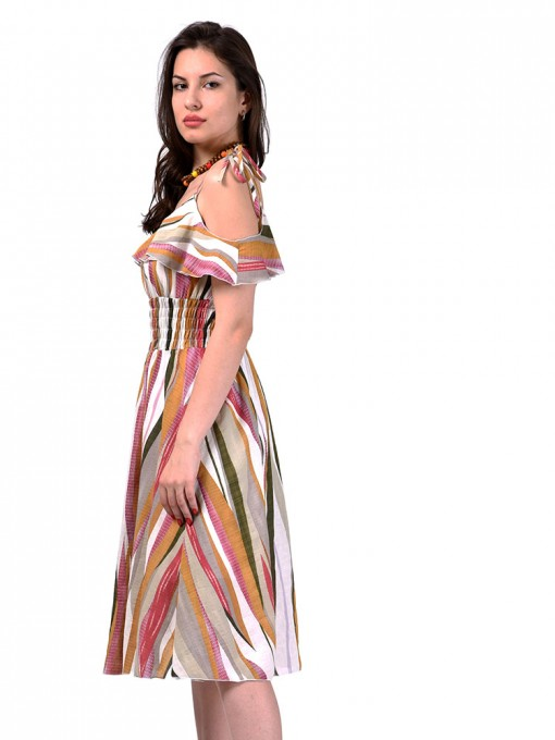 Сарафан мод. 3723 цвет Горчичный