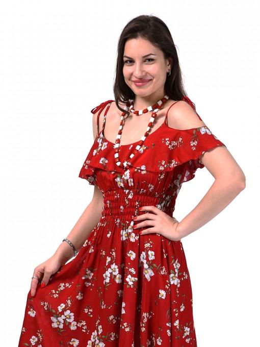 Сарафан мод. 3723 цвет Красный
