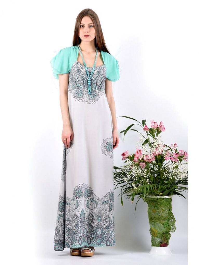 Платье мод. 3733 цвет Мятный