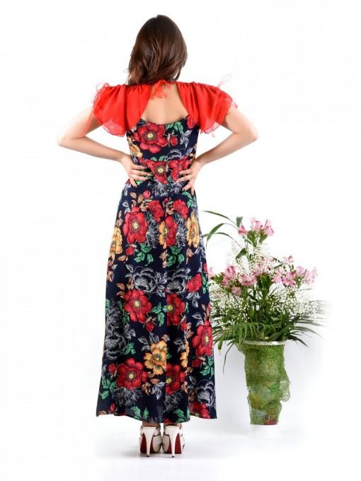 Платье мод. 3733 цвет Красный